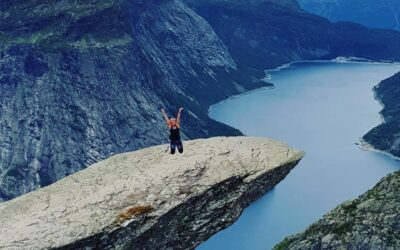 Vandra i Norge.