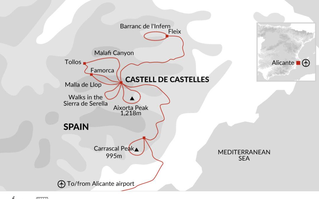 Vandra i Spanien
