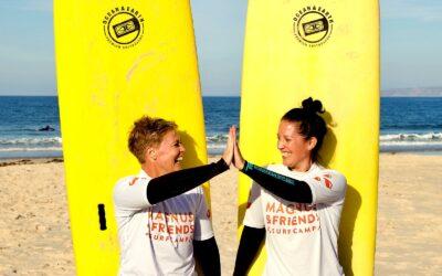 Surfa i Portugal – Samarbete med Magnus & friends
