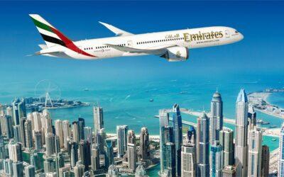 Kampanj – Emirates till DUBAI!